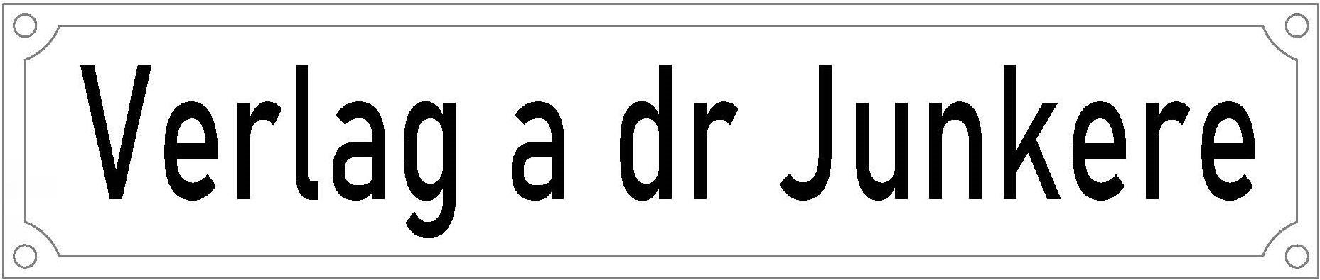 Verlag a dr Junkere